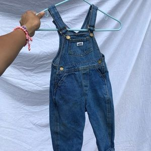 Baby Guess denim overalls